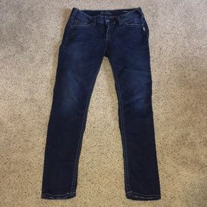 Silver Suki Mid Skinny Jeans
